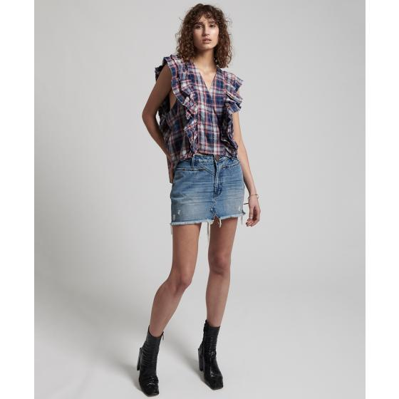 Oneteaspoon vintage check sofia shirt 22690-2