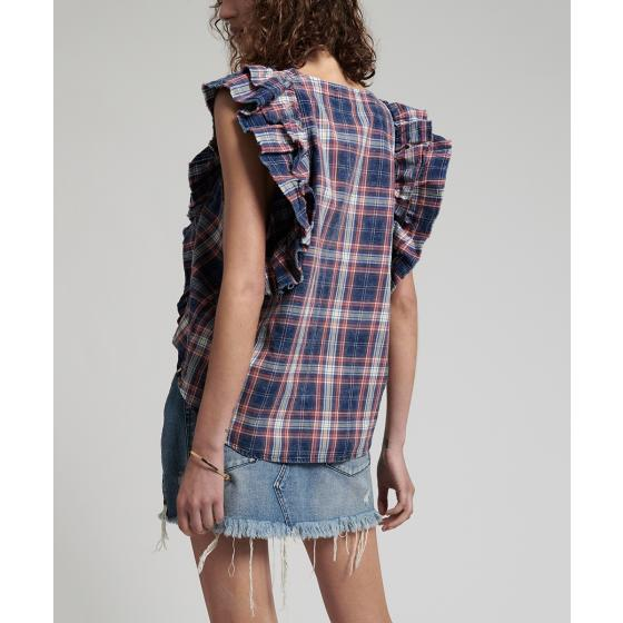 Oneteaspoon vintage check sofia shirt 22690-3