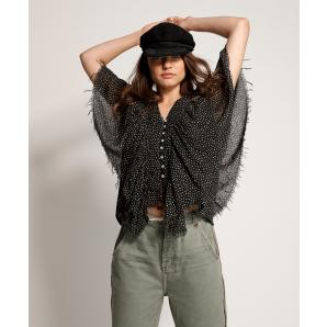 Oneteaspoon Starry Night Frill Top
