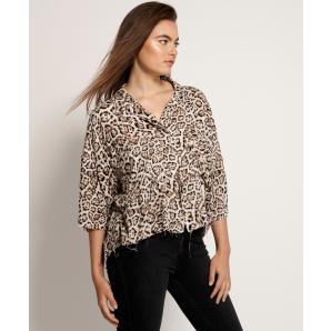 Oneteaspoon stone leopard montego bay shirt 23390