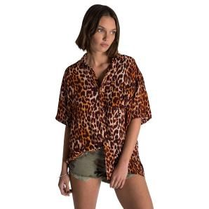 Oneteaspoon polynesian animal print shirt 23354