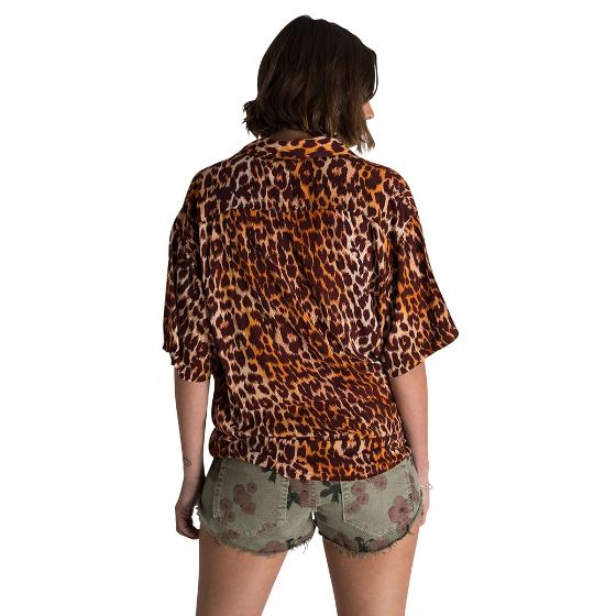 Oneteaspoon polynesian animal print shirt 23354-2