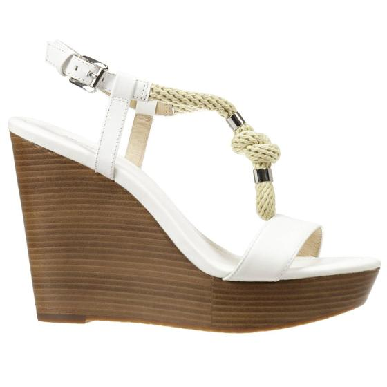 Michael Kors holly wedge leather shoes 40S6HOHA1L-0