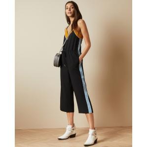 Ted Baker DARVVA Slip style contrast side jumpsuit