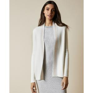 Ted Baker MMAYIA Pergola woven back wrap cardigan