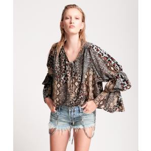 ONETEASPOON PUNK PYTHON SOPHISTICATED SAVAGE TOP 24225