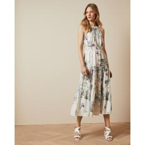 Ted Baker KAHLAY Pergola tiered midi dress