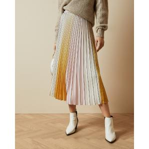 Ted Baker NOVIIA Ombré pleated skirt