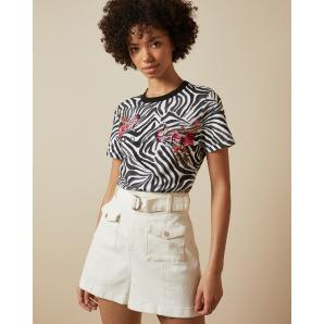Ted Baker RHIYYAN Samba printed cotton T-shirt