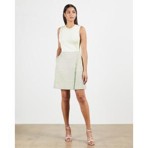TED BAKER Knit bodice dress 243300