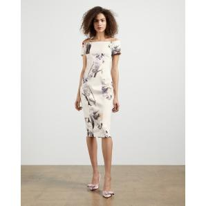 TED BAKER Vanilla bodycon bardot dress 245292