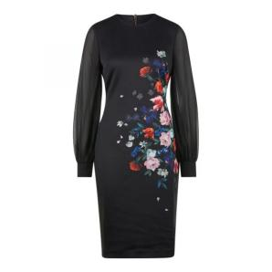 TED BAKER opens midi dress 245884