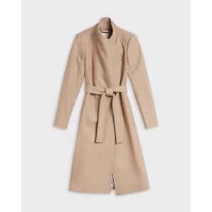 TED BAKER wool wrap coat 249305