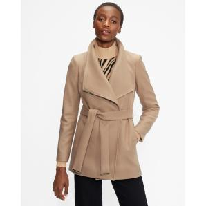 Ted Baker ROSESS Wool wrap short coat