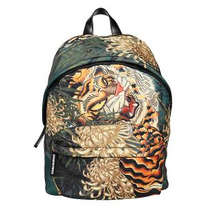 Dsquared2 tiger print design backpack BPM0016