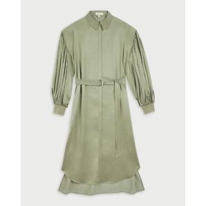 TED BAKER Blouson sleeved midi shirt dress 253217