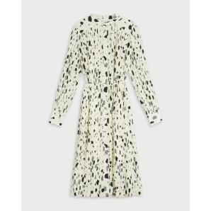TED BAKER Midi Plisse Shirt Dress 253224