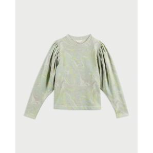 TED BAKER Marble print jersey sweater 253431