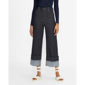 Ted Baker NAZZ Wide leg jeans with turn ups