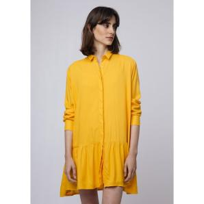 COMPANIA FANTASTICA YELLOW SHIRT DRESS SP19SAM13
