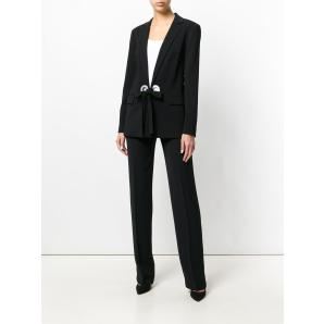 MICHAEL KORS Black Single Br Blazer W G In Viscose By Michael Kors MH71ENH80K
