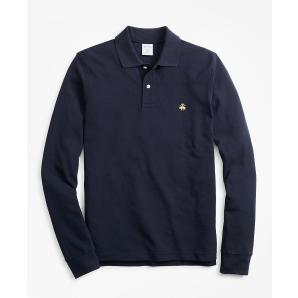 BROOKS BROTHERS Long-Sleeve Performance Polo Shirt 00121540