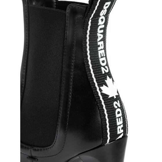 DSQUARED2 heeled ankle boots in black ABW0117 01501155 M436-4