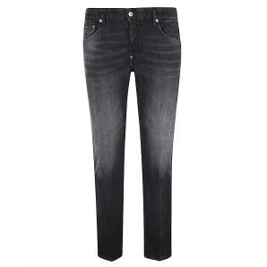 DSQUARED2 Black Wash Skater Jeans S74LB0789