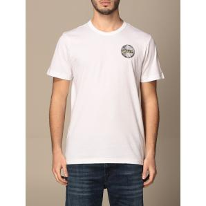 COLMAR ORIGINALS COTTON T-SHIRT WITH METALLIC LOGO 7585