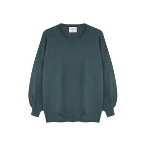 Compania fantastica wide green puff jumper FA19DEJ09