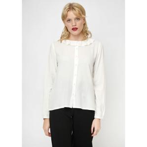 Compania fantastica white babydoll blouse FA19SAM32
