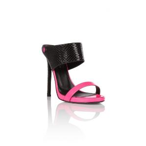 Philipp Plein reptilia sandals