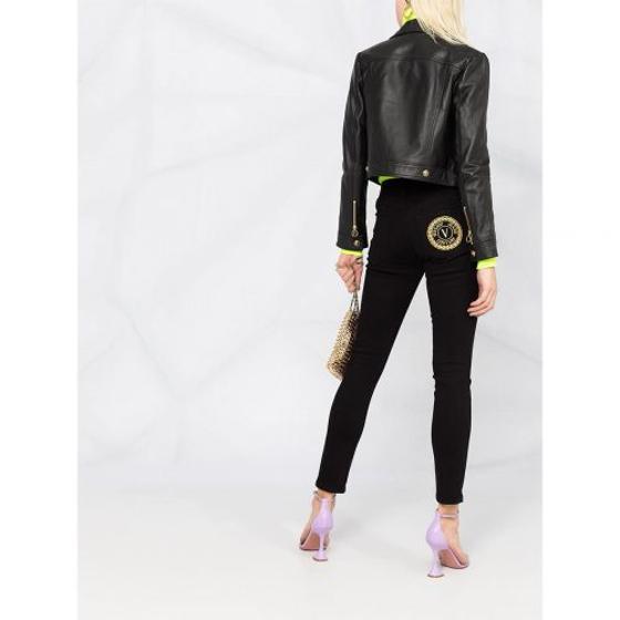 VERSACE black skinny jeans A1HWA0J5-2