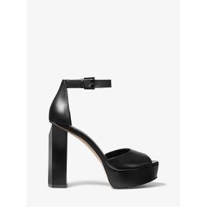 Michael kors  petra leather platform sandal 40R0PEHS2L-001