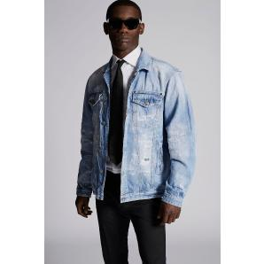 DSQUARED2 Light Piranha Over Denim Jacket S71AN0053