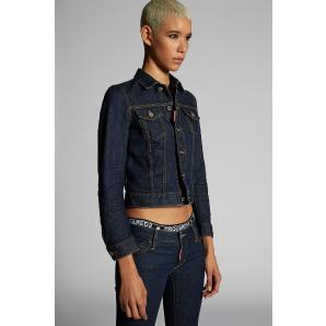 DSQUARED2 Dark Classic Denim Jacket S75AM0704