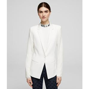 Karl Lagerfeld pleated back blazer 201W1404