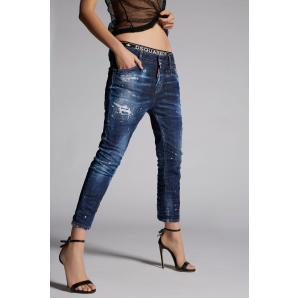 DSQUARED2 COOL GIRL CROPPED JEAN S72LB0180