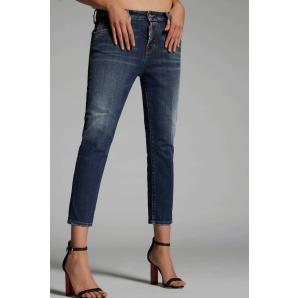 DSQUARED2 Plain Cool Girl Cropped Jeans S75LB0229