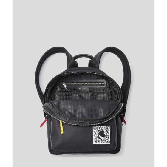 Karl Lagerfeld k/pixel nylon backpack 201W3127-3