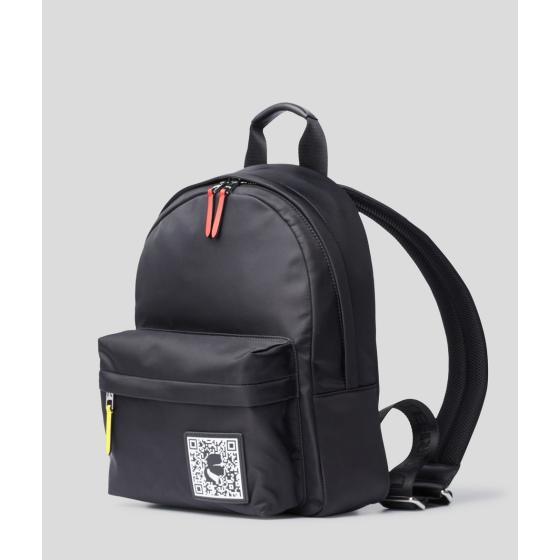 Karl Lagerfeld k/pixel nylon backpack 201W3127-1