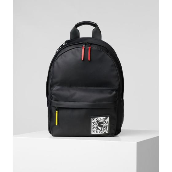 Karl Lagerfeld k/pixel nylon backpack 201W3127-0