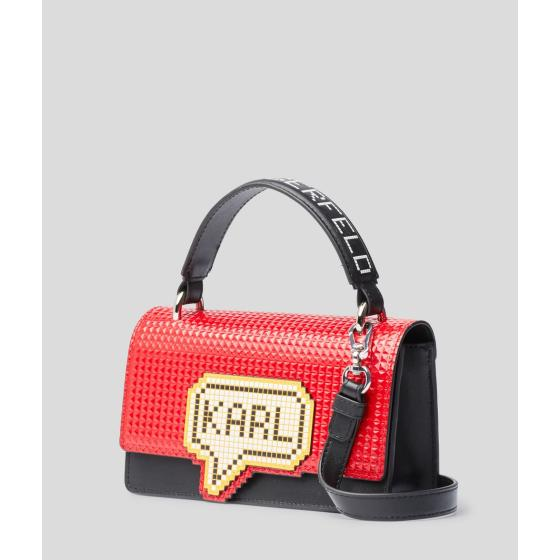 Karl Lagerfeld k/pixel small top handle bag 201W3125-2