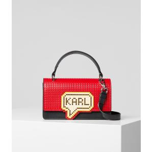 Karl Lagerfeld k/pixel small top handle bag 201W3125