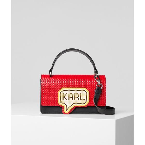 Karl Lagerfeld k/pixel small top handle bag 201W3125-0