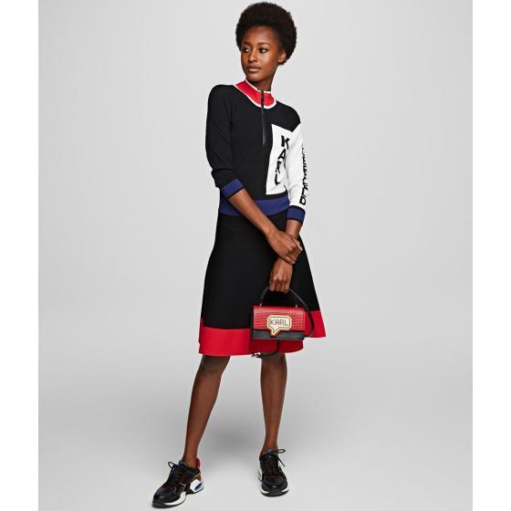 Karl Lagerfeld k/pixel small top handle bag 201W3125-4