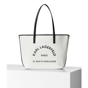 KARL LAGERFELD rue st guillaume leather tote 205W3084