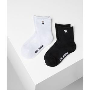 KARL LAGERFELD k/ikonik sock 2 pack 205W6001
