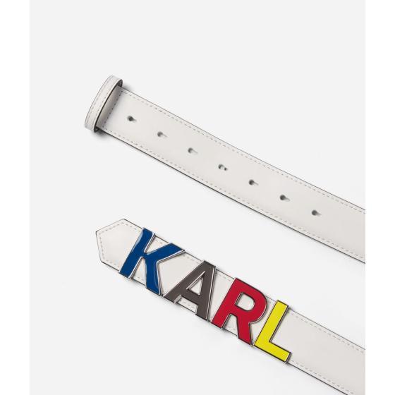 Karl Lagerfeld K/metal letters belt 201W3125-1