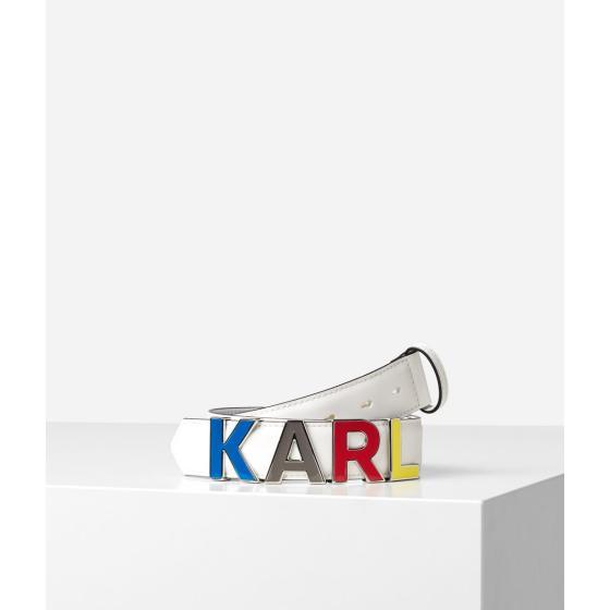 Karl Lagerfeld K/metal letters belt 201W3125-0